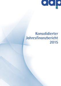 Konsolidierter Jahresfinanzbericht 2015