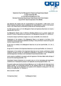 Declaration of Conformity 2002