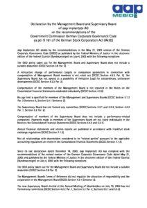 Declaration of Conformity 2004