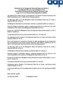 Declaration of Conformity 2007