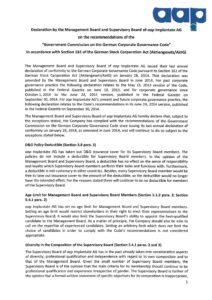 Declaration of Conformity 2015