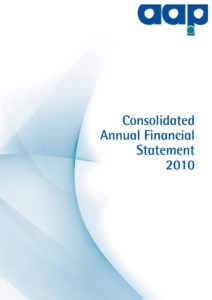 Consolidated Annual Financial Statement 2010