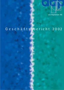 Geschäftsbericht 2002