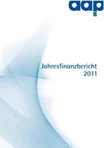 Jahresfinanzbericht 2011