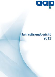 Jahresfinanzbericht 2012