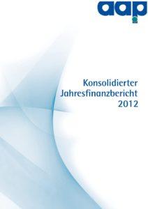 Konsolidierter Jahresfinanzbericht 2012