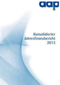 Konsolidierter Jahresfinanzbericht 2013