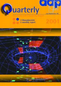 Quartalsbericht 1 2001