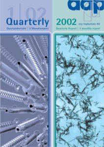 Quartalsbericht 1 2002