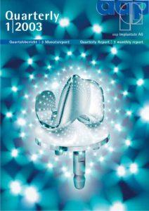 Quartalsbericht 1 2003