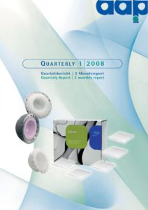 Quartalsbericht 1 2008