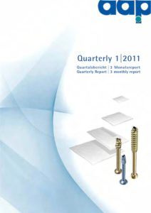 Quartalsbericht 1 2011