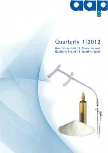Quarterly Statement 1 2012
