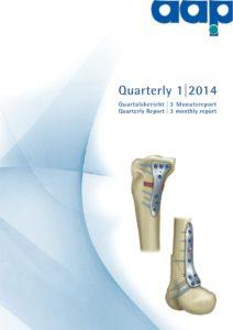 Quartalsbericht 1 2014