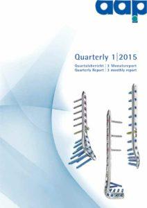 Quartalsbericht 1 2015