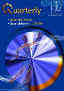 Quarterly Statement 2 2000