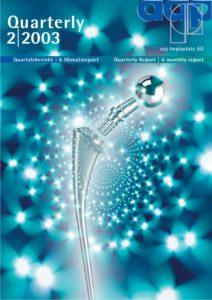 Quartalsbericht 2 2003
