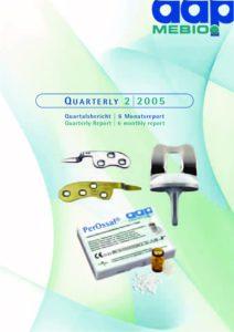 Quartalsbericht 2 2005
