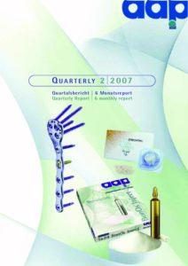 Quarterly Statement 2 2007