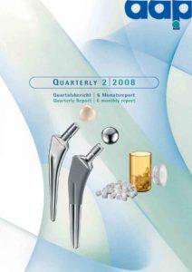 Quartalsbericht 2 2008