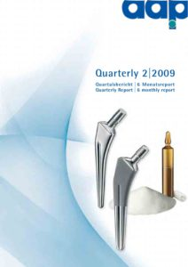 Quartalsbericht 2 2009