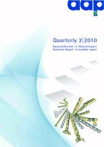 Quartalsbericht 2 2010