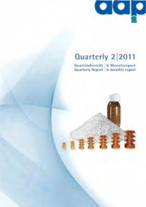Quartalsbericht 2 2011