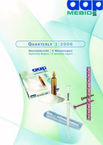 Quarterly Statement 3 2006