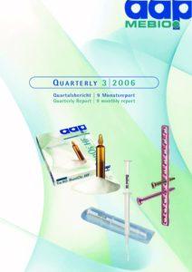 Quartalsbericht 3 2006