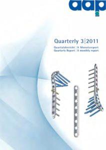 Quartalsbericht 3 2011