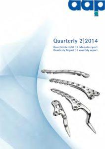 Quartalsbericht 2 2014