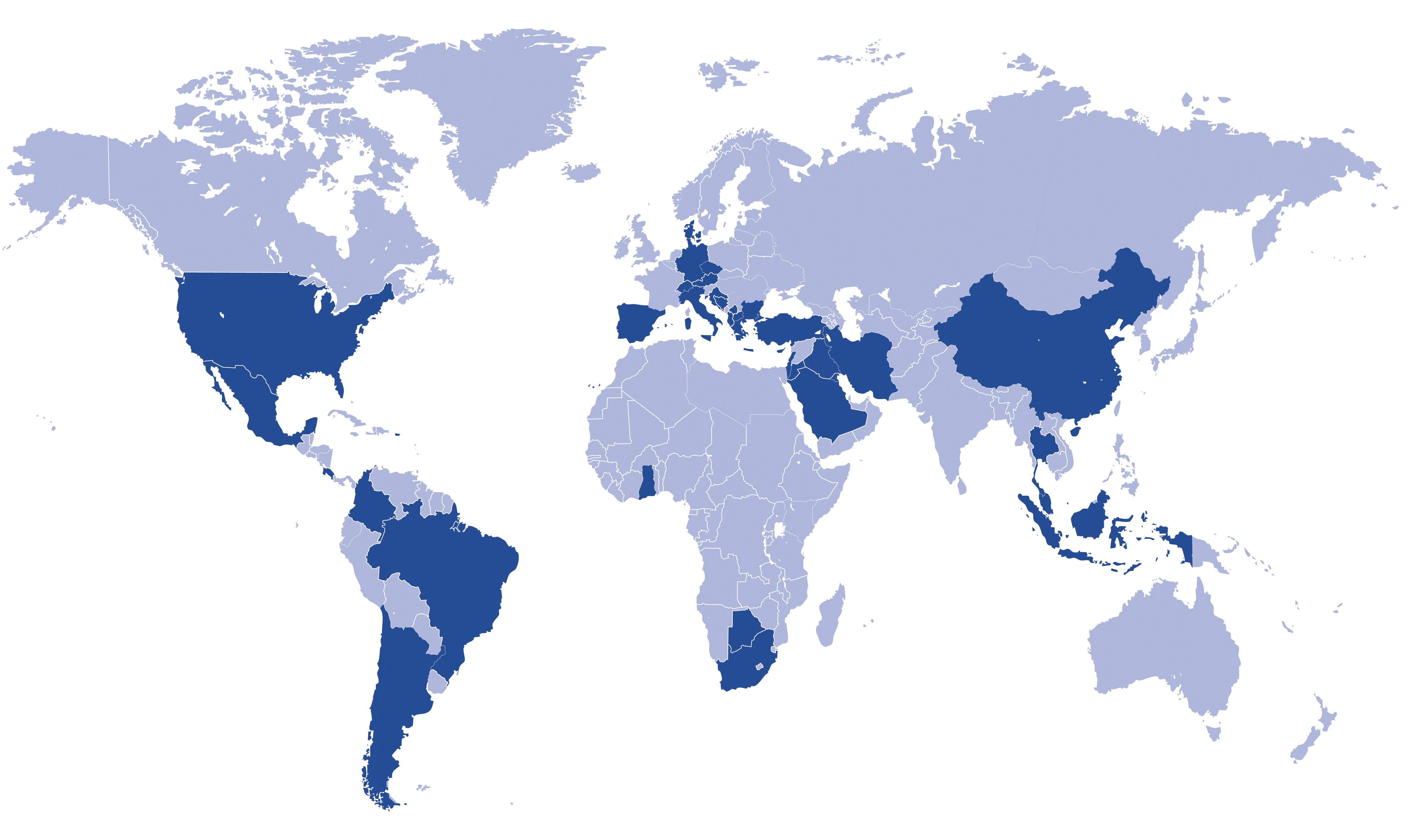aap distributors worldmap
