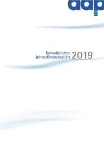 Konsolidierter Jahresfinanzbericht 2019