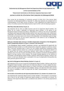 Declaration of Conformity 2020